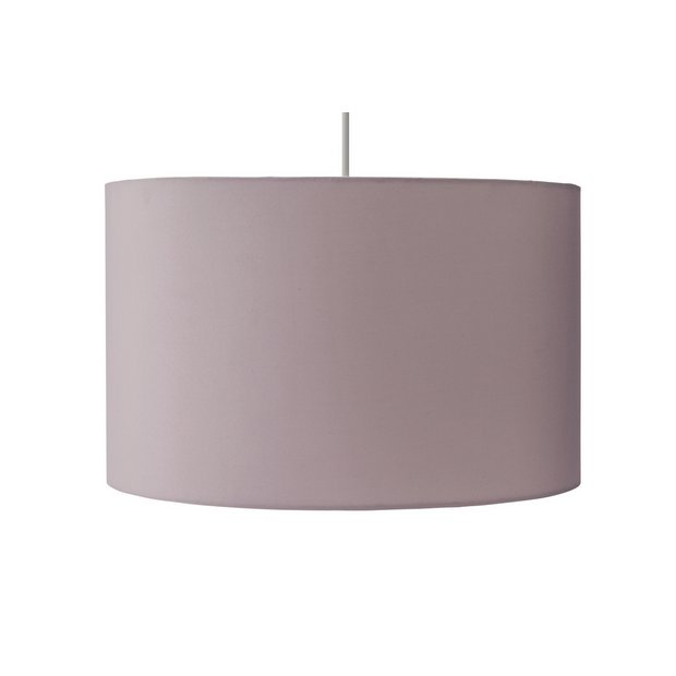 Large Drum Shade Blush Pink | Lamp