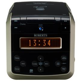 Roberts Sound38 DAB Radio and CD Player - Black / Silver