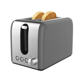 Cookworks Bullet 2 Slice Toaster - Grey