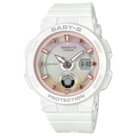 Casio Baby G Ladies White Resin Strap Watch