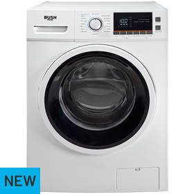 Bush WMNBX814W 8KG 1400 Spin Washing Machine - White
