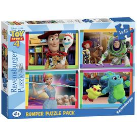 Disney Toy Story 4 42 Piece Jigsaw Puzzle - Set of 4