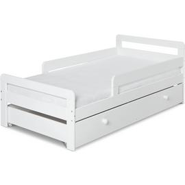 Argos Home Ellis White Toddler Bed, Drawer & Kids Mattress