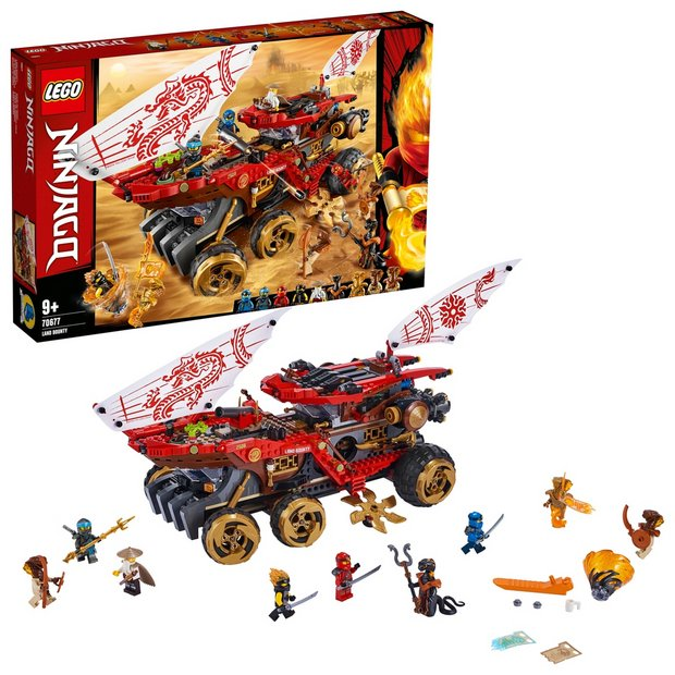 LEGO Ninjago Land Bounty Playset - 70677 now 1/2 price at Argos