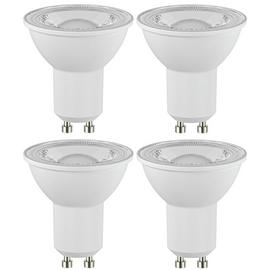 Argos Home 4W LED GU10 Light Bulbs - 4 Pack