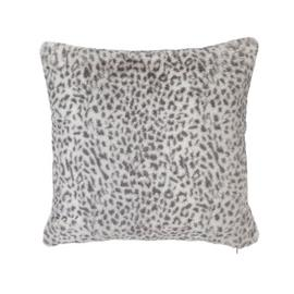 Argos Home Animal Print Cushion - Grey