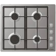 Candy CHG6LX Gas Hob - Stainless Steel