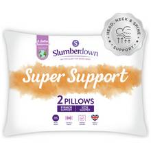 Slumberdown Support Pillow - 2 Pack