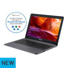 ASUS VivoBook E203 11.6 Inch Celeron 4GB 64GB Laptop - Grey 4fb7515c2e36