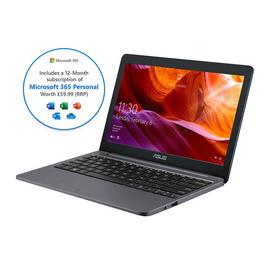 ASUS VivoBook E203 11.6in Celeron 4GB 64GB Cloudbook - Grey