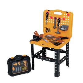 JCB Workbench and Tool Case Playset