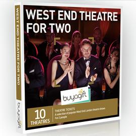 Buyagift West End Theatre For Two Gift Experience