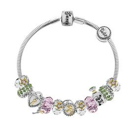 Disney Tinkerbell Made Up Charm Bracelet