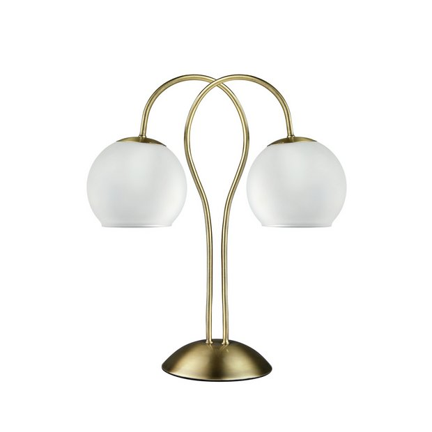 Antique Brass USED**READ DESCRIPTION Home Elisa  Table Lamp