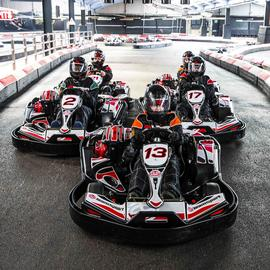 Buyagift 50 Lap Indoor Karting Race For Two Gift Experience