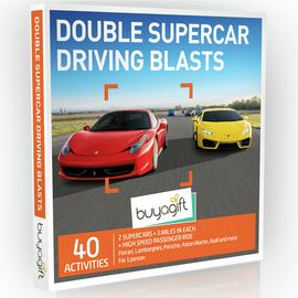Buyagift Double Supercar Driving Blasts Gift Experience