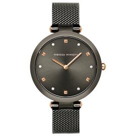 Rebecca Minkoff Ladies Black Stainless Steel Bracelet Watch