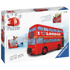 London Bus 3D Jigsaw Puzzle