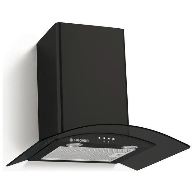 Buy Hoover HGM600N 60cm Cooker Hood - Black | Cooker hoods | Argos