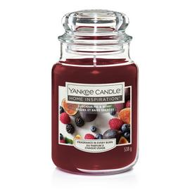 Home Inspiration Large Jar Candle - Luscious Fig & Berry