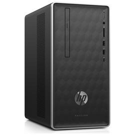 HP Pavilion Celeron 4GB 1TB Desktop PC - Black