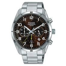 Pulsar Chronograph Silver Bracelet Watch