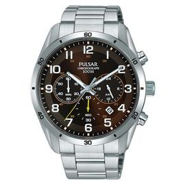 Pulsar Chronograph Silver Bracelet Watch