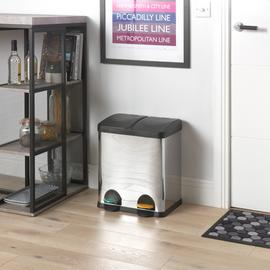 Argos Home 30 Litre Twin Compartment Recycling Bin