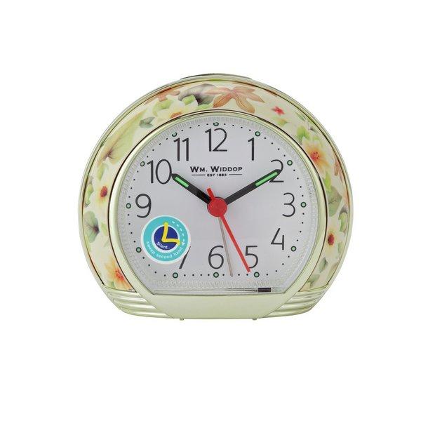 Buy Wm. Widdop Floral Design Alarm Clock | Clocks | Argos