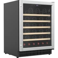 Bush WD52 52 Bottle Under Counter Wine Cooler - S/Steel