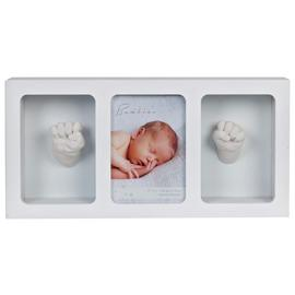 Bambino Baby Photo Frame & Hand Mould