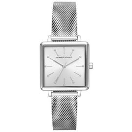 Armani Exchange Ladies Lola Silver Bracelet Watch