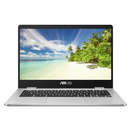 ASUS C423 14 Inch Celeron 4GB 32GB Chromebook - Grey