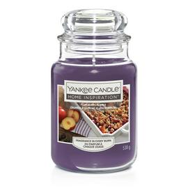 Home Inspiration Large Jar Candle - Plum Berry