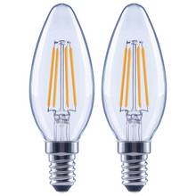 Argos Home 4W LED SES Dimmable Candle Light Bulb - 2 Pack