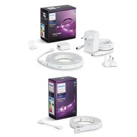 Philips Hue Indoor 2M Lightstrip with 1M Smart Extension Kit