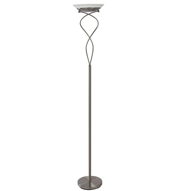 best website 3d84e 08c3e Buy Argos Home Curico Uplighter Floor Lamp - Antique Brass | Floor lamps |  Argos
