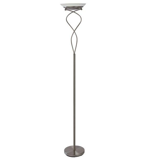 Buy Argos Home Curico Uplighter Floor Lamp Brushed Chrome