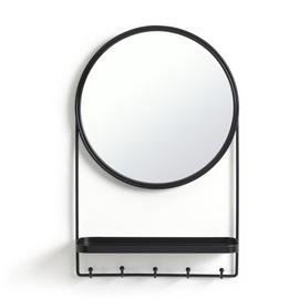 Habitat Round Shelf Mirror