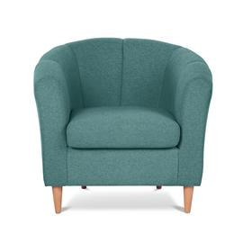 Argos Home Ayres Fabric Tub Chair - Aqua