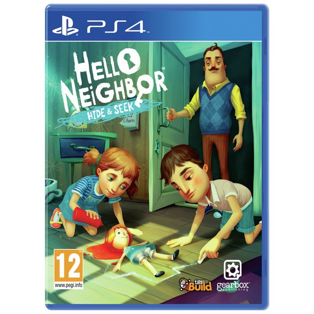 Buy Hello Neighbor Hide And Seek Ps4 Game Ps4 Games Argos