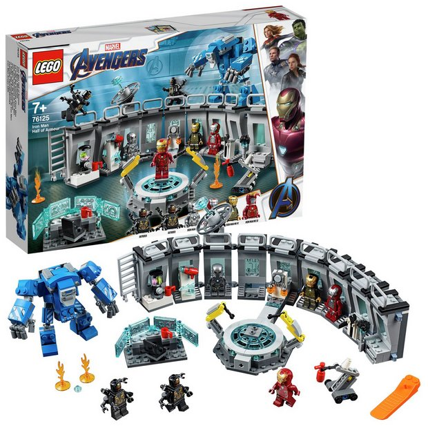 purchase cheap 41cfd 20581 LEGO Marvel Avengers Iron Man Hall Armor Building Kit -76125918 5160