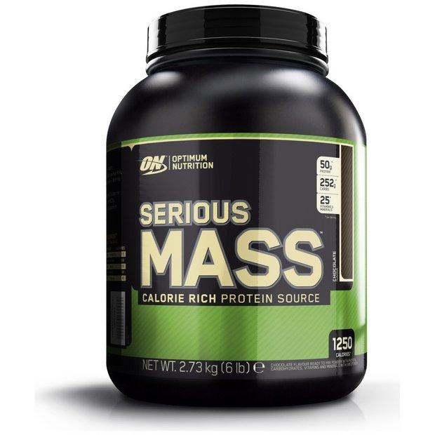 Optimum Nutrition Serious Mass Chocolate Shake 2.73kg