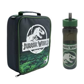 Universal Jurassic World Lunch Bag And Bottle Set - 600ml