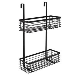 Argos Home 2 Tier Wire Shower Caddy - Black