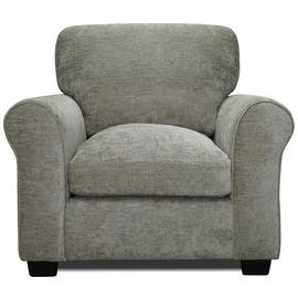 Argos Home Tammy Fabric Chair and 2 Seater Sofa - Mink