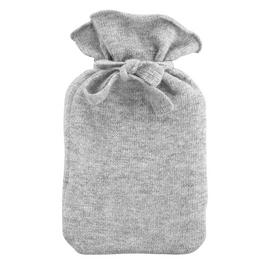 Tranquil Retreat Knitted Hot Water Bottle - Grey