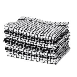 Argos Home Pack of 8 Mixed Terry Tea Towels