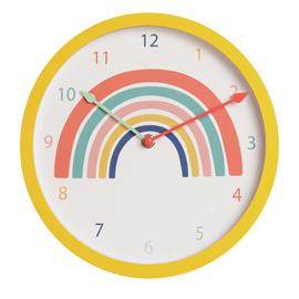 Argos Home Rainbow Clock - Multicoloured