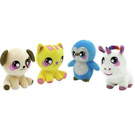 Squeezamals 3D Soft Toy Assortment